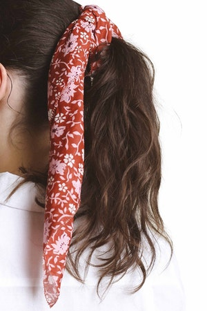 Charlotte Scarf ROSE FLORAL by Trovata - 1