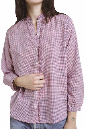 Helena Shirt RD/WHT/NVY MINI CK by Trovata - 1