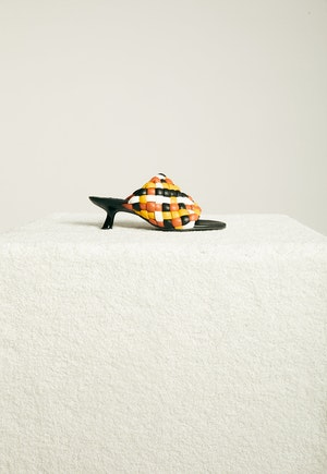 Vegan Woven Tee Heel in Multi Color by Simon Miller - 1