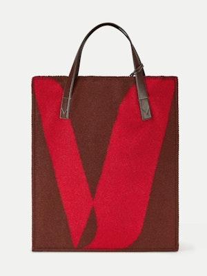 Blanket Tote Red by Vaara - 1