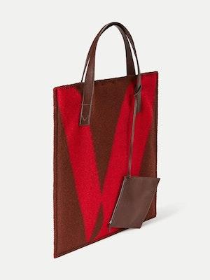 Blanket Tote Red by Vaara - 2
