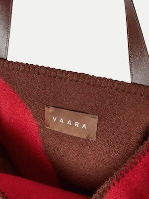 Blanket Tote Red by Vaara - 4
