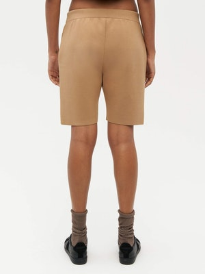 Essential Knit Shorts Brown by Vaara - 3