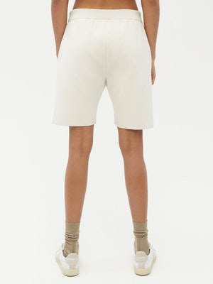 Essential Knit Shorts White by Vaara - 2
