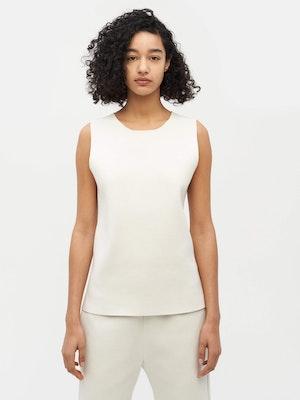 Essential Knit Tank White by Vaara - 1