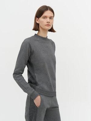 Rumer Organic Sweatshirt Grey by Vaara - 2