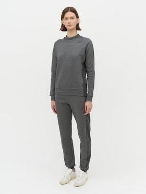 Rumer Organic Sweatshirt Grey by Vaara - 1