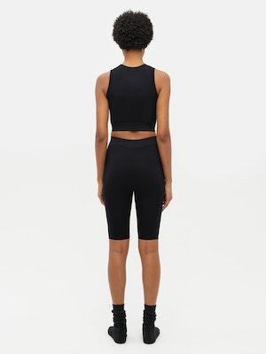 Essential Seamless Short Black by Vaara - 3