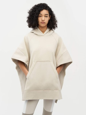 Sweatshirt Poncho Grey by Vaara - 2