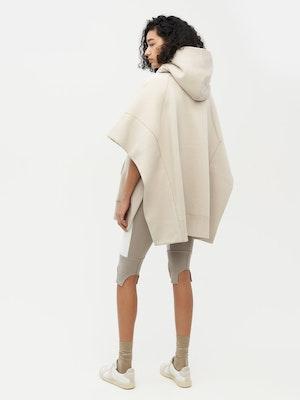 Sweatshirt Poncho Grey by Vaara - 3