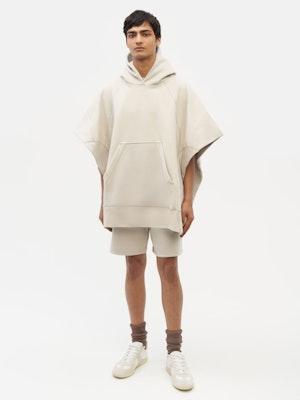 Sweatshirt Poncho Grey by Vaara - 4