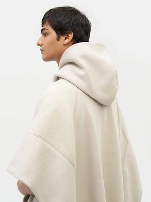 Sweatshirt Poncho Grey by Vaara - 6