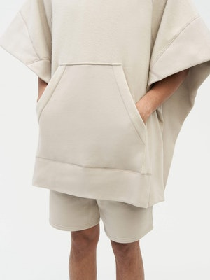 Sweatshirt Poncho Grey by Vaara - 7