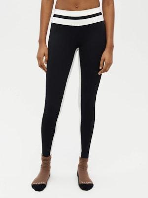 Tuxedo Sports Legging Black by Vaara - 1