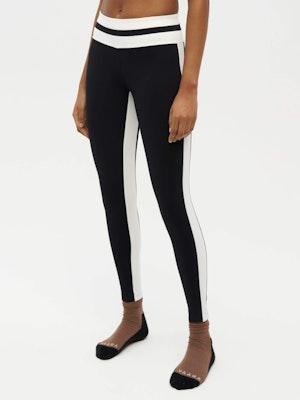 Tuxedo Sports Legging Black by Vaara - 2