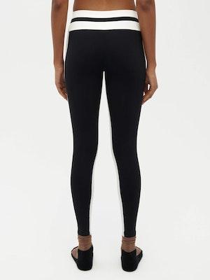 Tuxedo Sports Legging Black by Vaara - 4