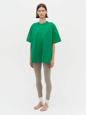 Unisex Heavy Pocket T-Shirt Green by Vaara - 1
