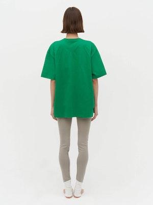 Unisex Heavy Pocket T-Shirt Green by Vaara - 3
