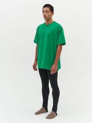 Unisex Heavy Pocket T-Shirt Green by Vaara - 4