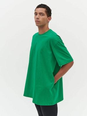 Unisex Heavy Pocket T-Shirt Green by Vaara - 5