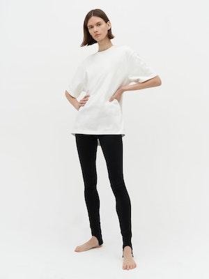 Unisex Heavy Pocket T-Shirt White by Vaara - 1