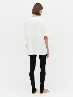 Unisex Heavy Pocket T-Shirt White by Vaara - 3