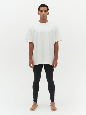 Unisex Heavy Pocket T-Shirt White by Vaara - 4