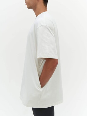 Unisex Heavy Pocket T-Shirt White by Vaara - 5