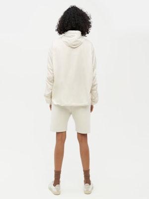 Unisex Ruched Short Anorak White by Vaara - 3