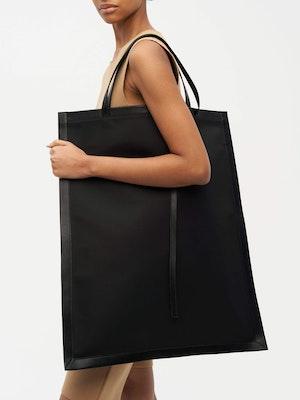 Frame Tote Nylon Black by Vaara - 4