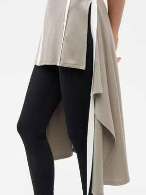Wrap Dress Grey by Vaara - 4