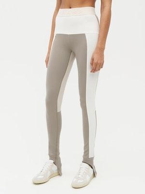 Patchwork Legging Grey by Vaara - 2