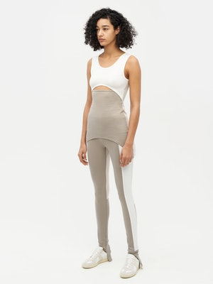 Patchwork Legging Grey by Vaara - 3