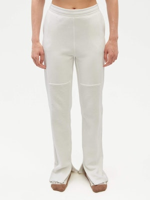 Reverse Patch Sweatpant White by Vaara - 2