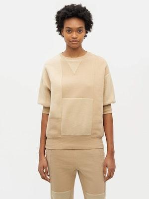 Reverse Patch Sweatshirt Neutral by Vaara - 3
