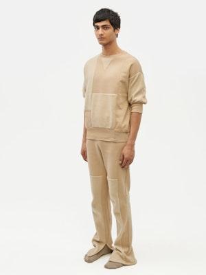 Reverse Patch Sweatshirt Neutral by Vaara - 4