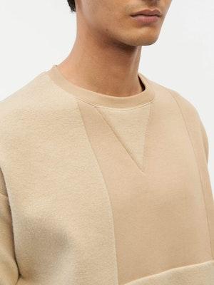 Reverse Patch Sweatshirt Neutral by Vaara - 6