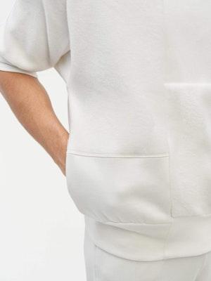 Reverse Patch Sweatshirt White by Vaara - 5