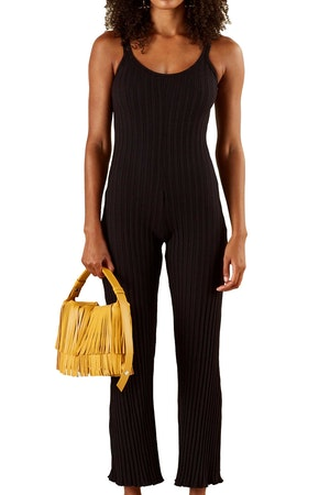 RIB MALO JUMPSUIT IN BLACK by Simon Miller - 1