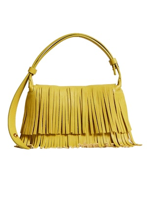 Mini Puffin in Chartreuse Fringe by Simon Miller - 1