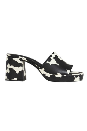 Stopper Heel In Cow Print by Simon Miller - 1