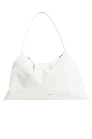 Vegan Puffin Tote in White by Simon Miller - 1