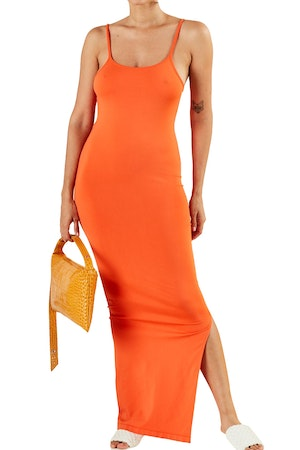 STRETCH Anders Dress in Coral by Simon Miller - 1