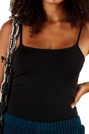 STRETCH Ano Bodysuit in Black by Simon Miller - 1