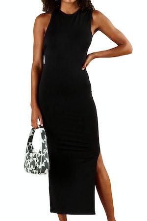 STRETCH Lou Dress in Black by Simon Miller - 1