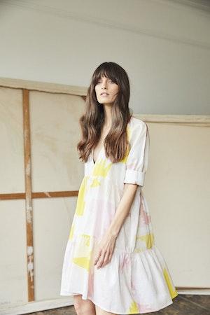 Juliet short tiered dress Honeyguide by Tallulah & Hope - 4
