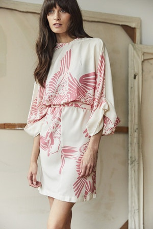 Gloria dress short Flamecrest by Tallulah & Hope - 3