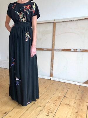 Luella wrap skirt Lovebirds by Tallulah & Hope - 1