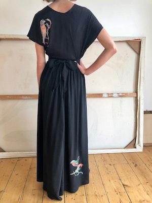 Luella wrap skirt Lovebirds by Tallulah & Hope - 2