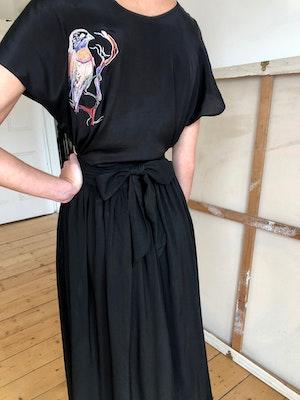Luella wrap skirt Lovebirds by Tallulah & Hope - 3